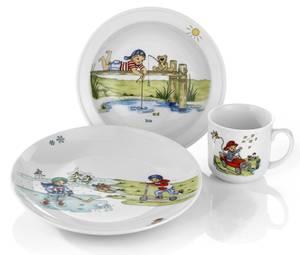 Bilde av Eik Barn - Hjertevenn gutt 3 deler porselen
