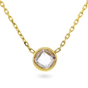 Bilde av Smykke i 375 gull med zirkonia 59109