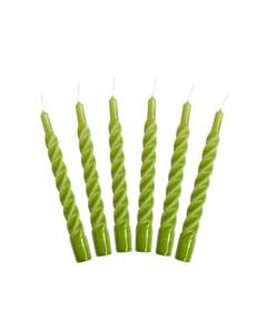 Bilde av Candles with a Twist - Taper Candle 21 cm APPLE