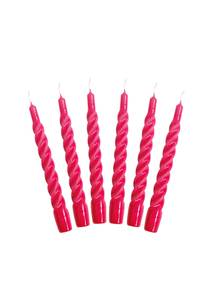 Bilde av Candles with a Twist - Taper Candle 21 cm