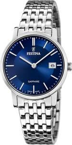 Bilde av F20019-2  Festina Swiss Made, da, lenke, blå