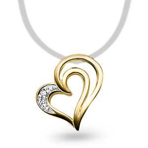 Bilde av Anheng i gull med diamant 0,005 ct WP 53375