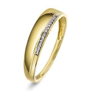 Bilde av Ring i gull med diamant 0,02 ct WSI 2216234