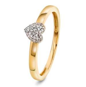 Bilde av Ring i gull med diamant 0,05 ct WP 56499