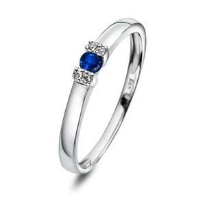 Bilde av Ring i gull med diamant 0,02 ct WP 52845