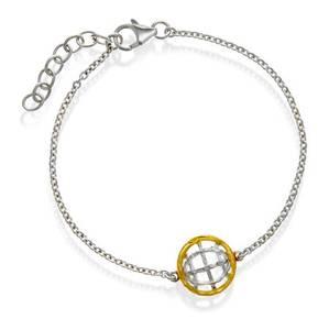 Bilde av 49808 Armbånd i sølv polarsirkel