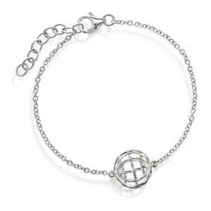 Bilde av 49807 Armbånd i sølv polarsirkel