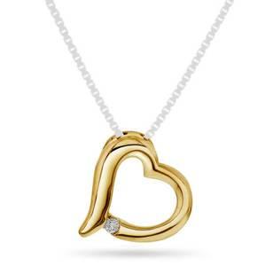 Bilde av Anheng i gull med diamanter 0,03 ct WP 56989