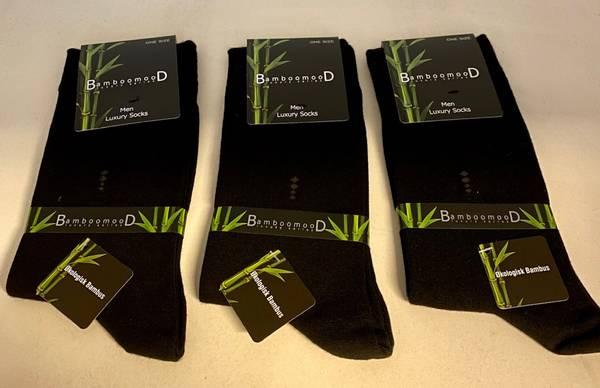Bilde av 3 pack Luxury Bambus sokker Herre