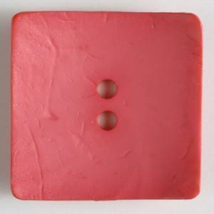 Bilde av Knapp, 60mm firkant rosa