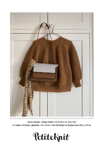 Bilde av PetiteKnit Novice Sweater Mohair Edition