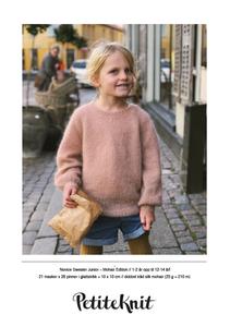 Bilde av PetiteKnit Novice Sweater Junior Mohair Edition