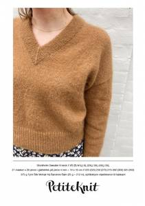Bilde av PetiteKnit Stockholm Sweater V-neck