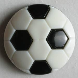 Bilde av Barneknapp, 13mm fotball,sort