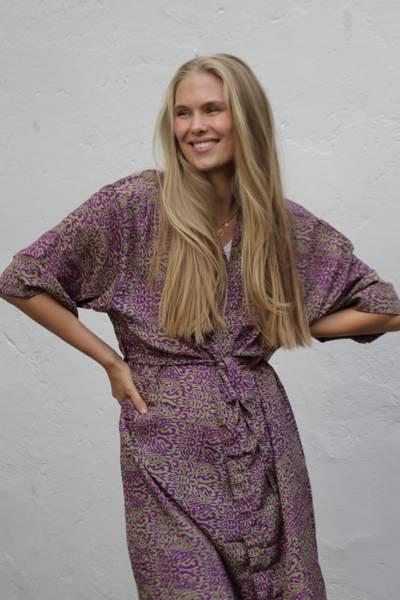 Bilde av Vintage silke kimono - Hanna