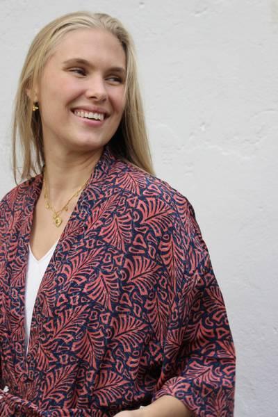 Bilde av Vintage silke kimono - Jannis