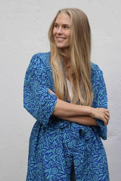 Bilde av Vintage silke kimono - Mira