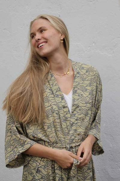 Bilde av Vintage silke kimono - Lea