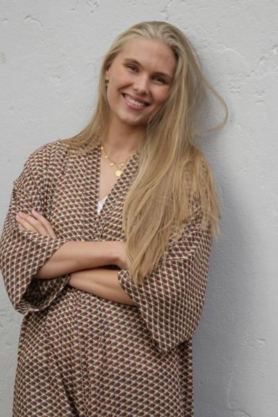 Bilde av Vintage silke kimono - Lenita