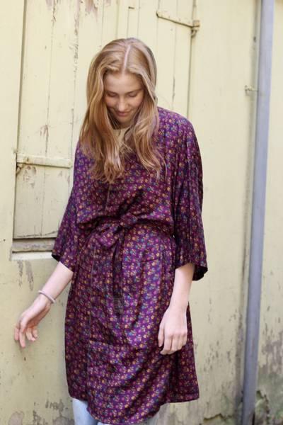 Bilde av Vintage silke kimono - Carro