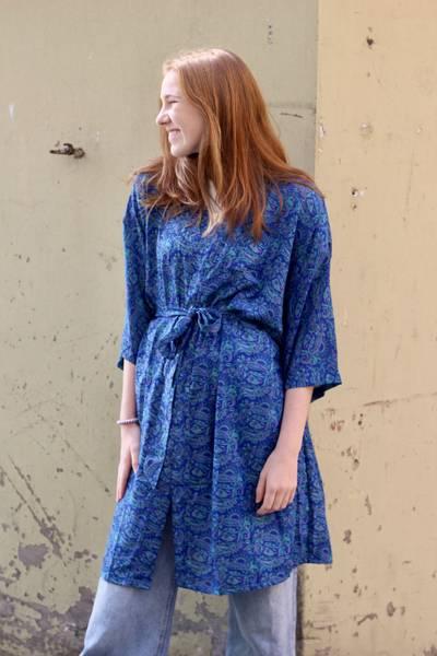 Bilde av Vintage silke kimono - Ramona