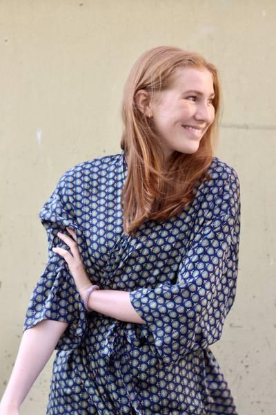 Bilde av Vintage silke kimono - Rakel