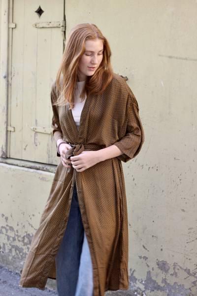 Bilde av Vintage silke kimono - Laila
