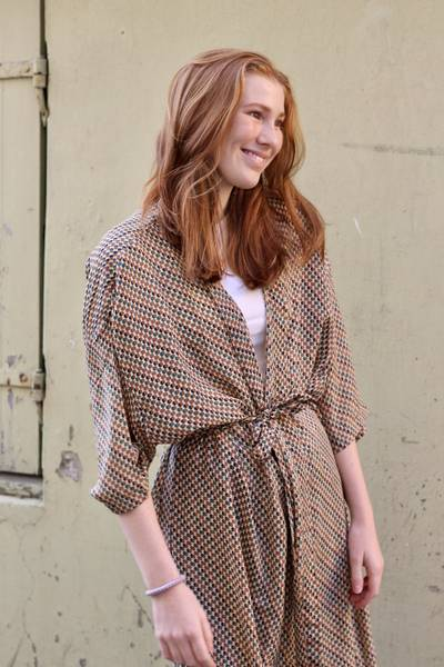 Bilde av Vintage silke kimono - Kate