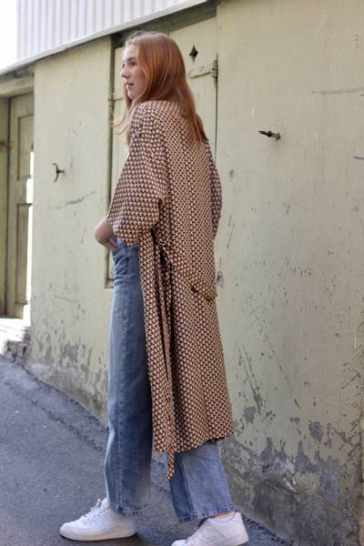 Bilde av Vintage silke kimono - Rita