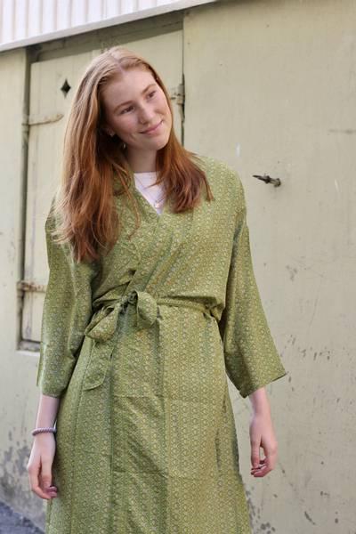 Bilde av Vintage silke kimono - Marta