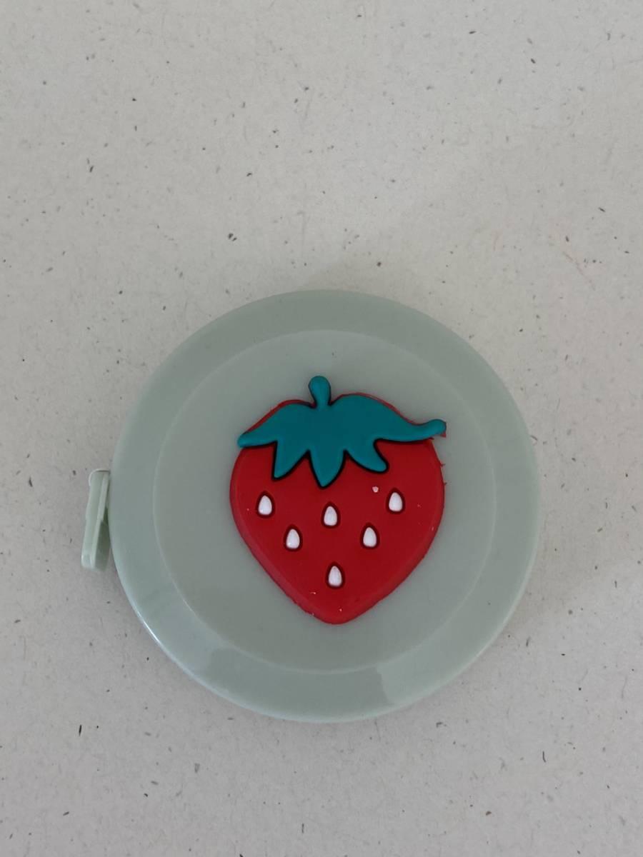 Målebånd - Jordbær