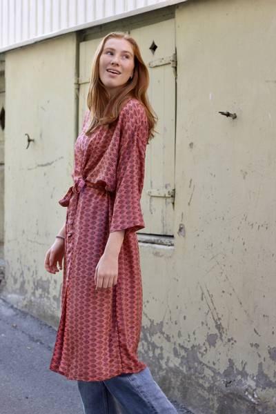 Bilde av Vintage silke kimono - Agata