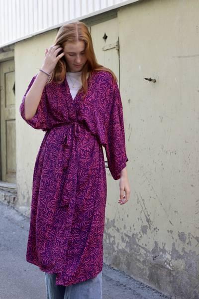 Bilde av Vintage silke kimono - Rikke