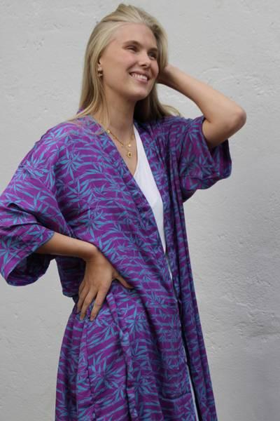 Bilde av Vintage silke kimono - Erna