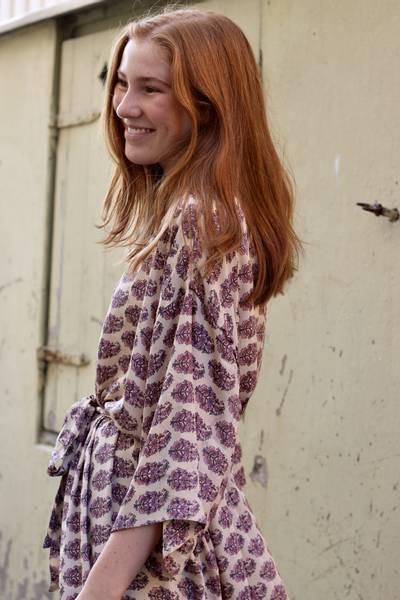 Bilde av Vintage silke kimono - Silja