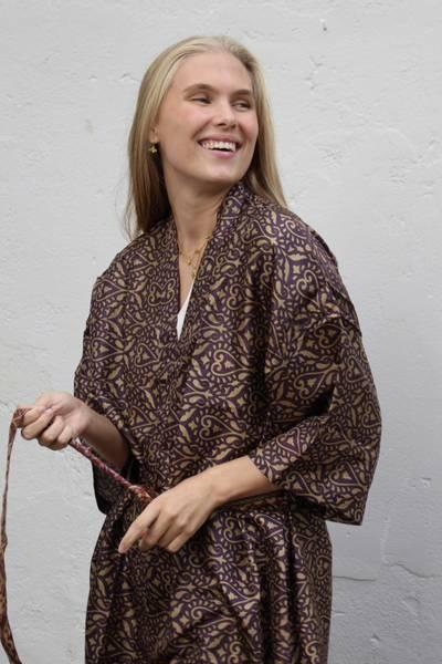 Bilde av Vintage silke kimono - Fia