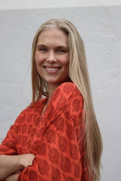 Bilde av Vintage silke kimono - Sally