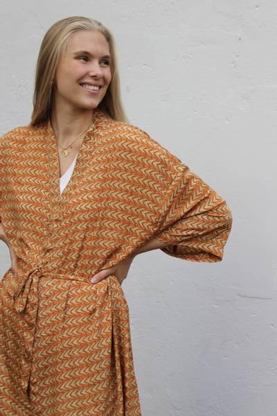 Bilde av Vintage silke kimono - Molly