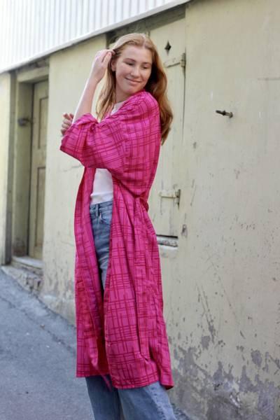 Bilde av Vintage silke kimono - Andrea