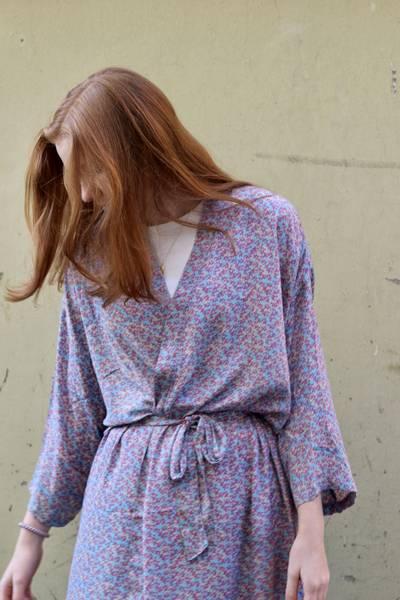 Bilde av Vintage silke kimono - Kikki
