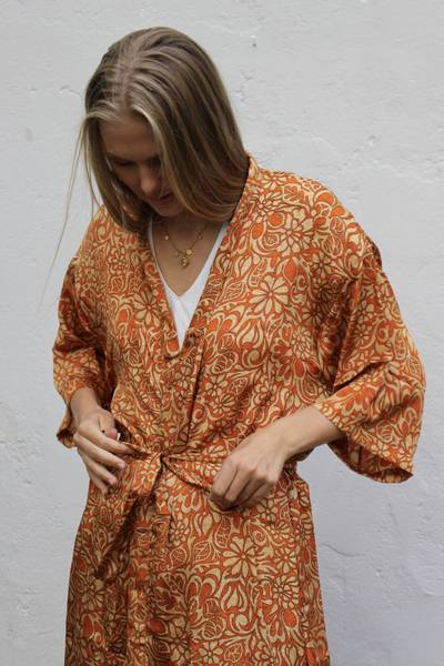 Bilde av Vintage silke kimono - Randi
