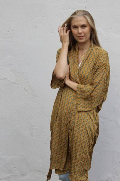 Bilde av Vintage silke kimono - Kaja