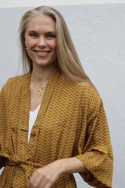 Bilde av Vintage silke kimono - Trude