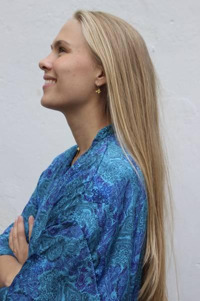 Bilde av Vintage silke kimono - Oline