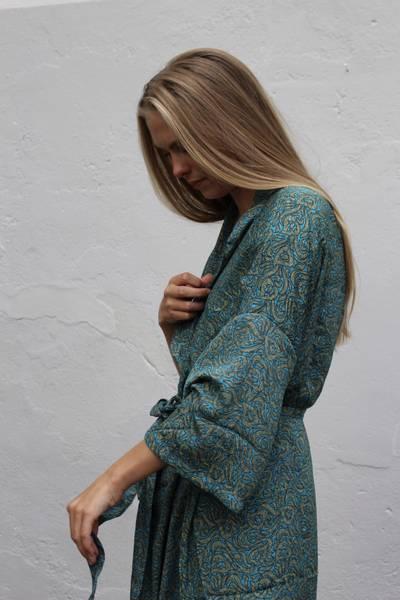 Bilde av Vintage silke kimono - Tuva