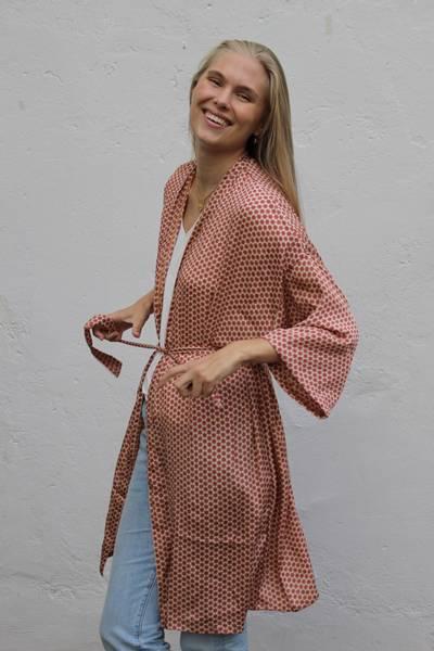 Bilde av Vintage silke kimono - Malin