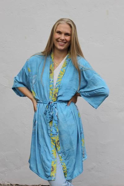 Bilde av Vintage silke kimono - Mimmi