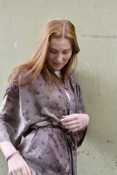 Bilde av Vintage silke kimono - Jorunn