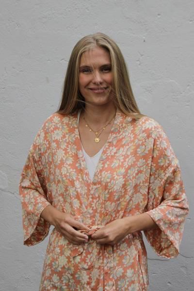 Bilde av Vintage silke kimono - Viola