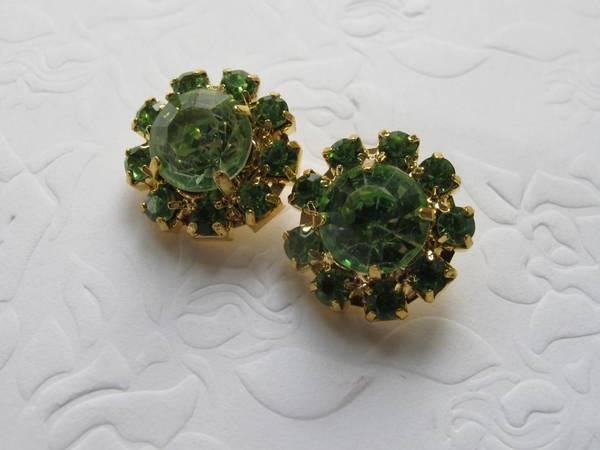 Bilde av Bling knapper - grønne